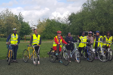 An opportunity for older BAME women cyclists in London